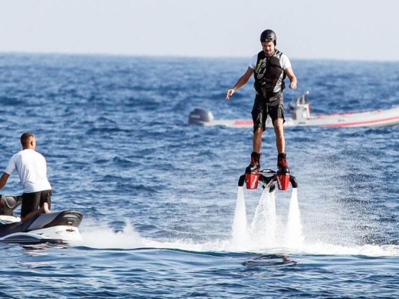 Initiation Flyboard - Plage de la Figueirette à Théoule sur Mer