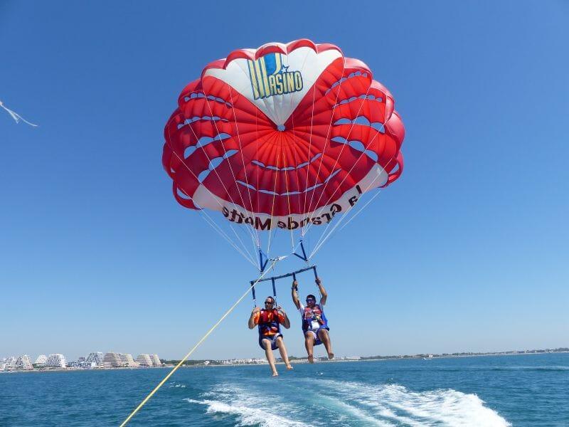 Parachute Ascensionnel - La Grande Motte