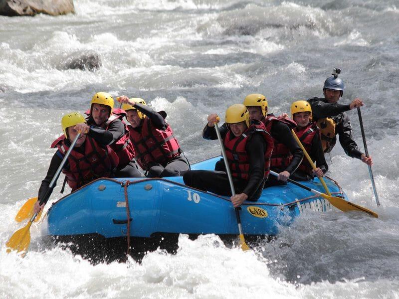 Rafting près d'Albertville - Descente de l'Isère