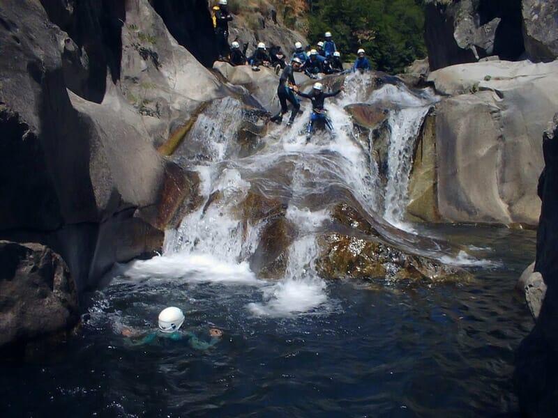 Canyoning aux Gorges des Cévennes - Saint-Jean-du-Gard