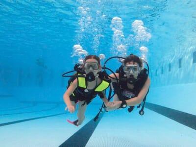 Cours de plongée 77